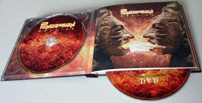 CD+DVD Pendragon Passion offert au 500ele liker Facebook
