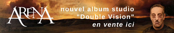 Commandez le nouvel album d'Arena - Double Vision